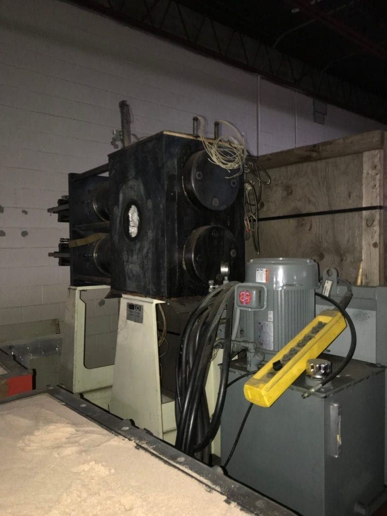 "Davis Standard Extruder 4.5"" L/D 24/1 with DC drive and floating base $16000 USD"