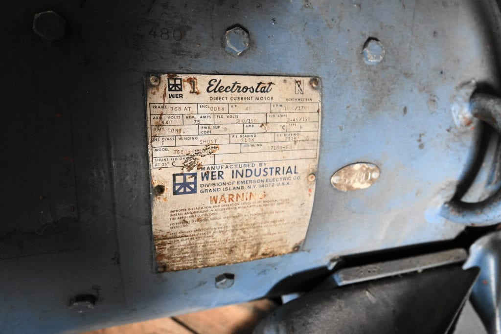 40 hp Electrostat DC Motor