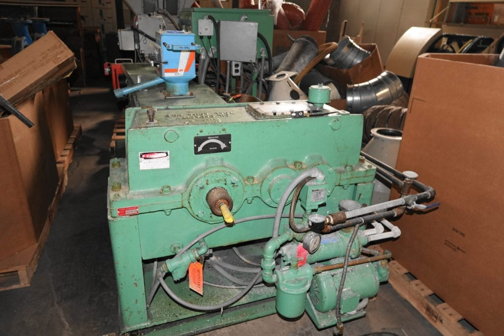 "NRM Extruder 2.5"", 24:1 Berringer Screen Changer $7000 each USD"