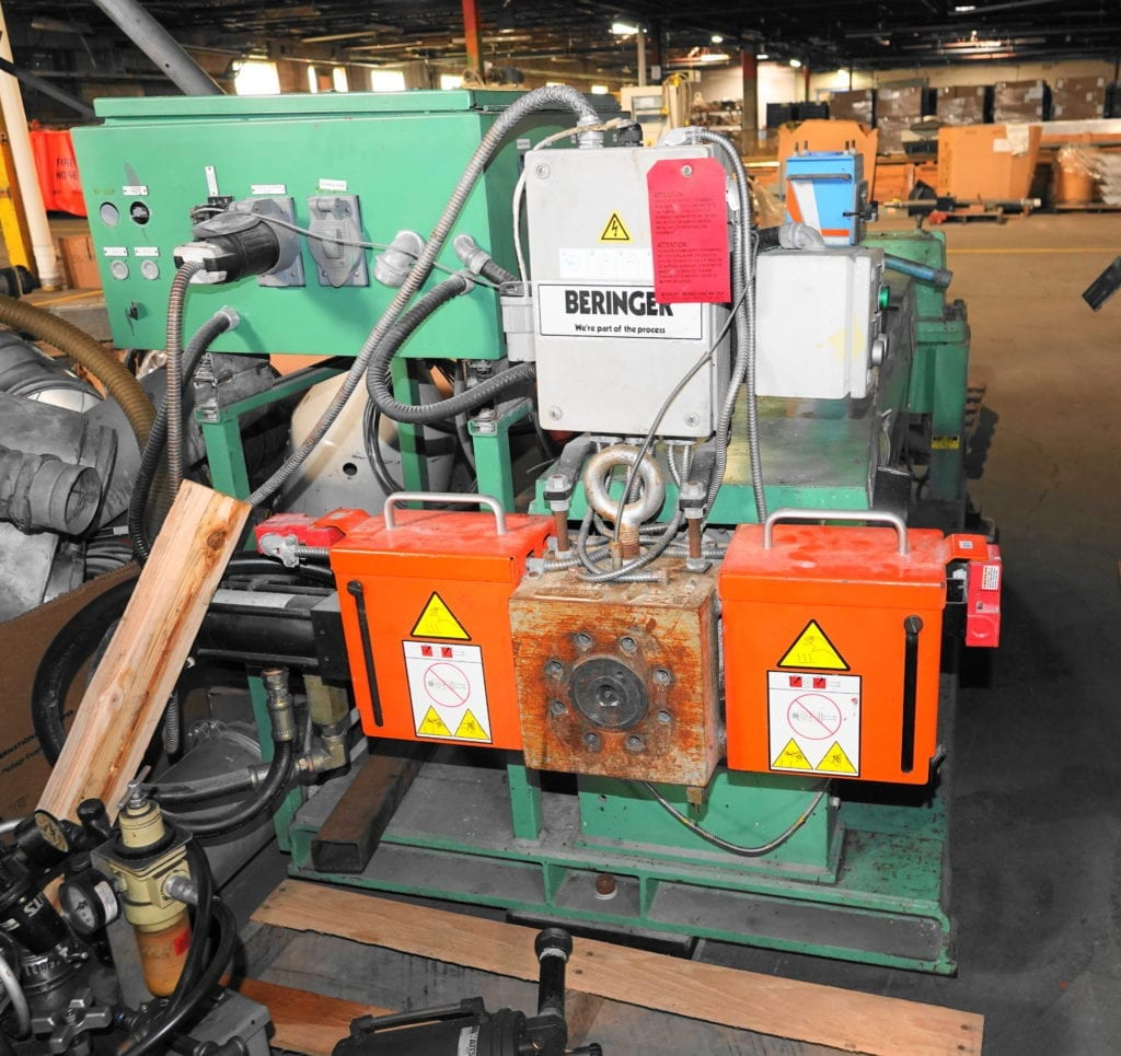 "NRM 2.5"" Extruder in low boy with Berringer Screen Changer $7000 each USD"