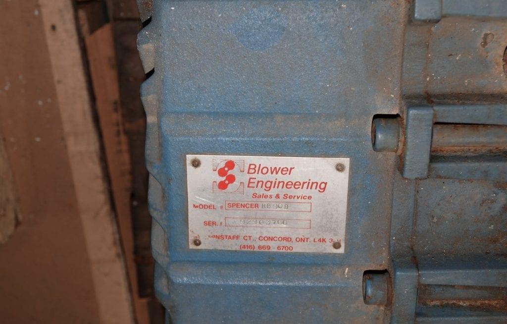 Raubusch Blower (rebuilt) $2500 USD